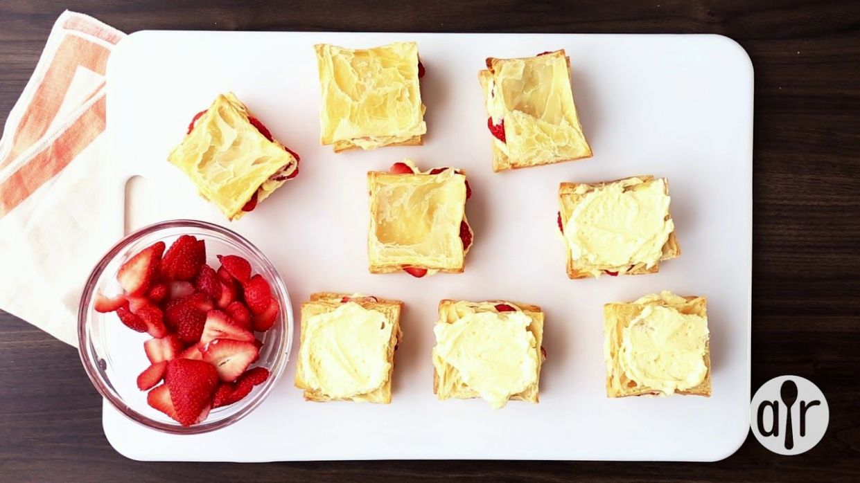 How to Make Strawberry Napoleons | Dessert Recipes | Allrecipes ..