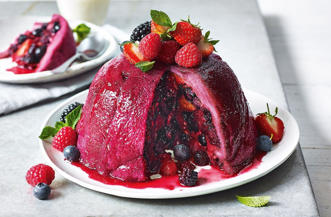 How to make summer pudding | Baking | Summer pudding, Pudding ...