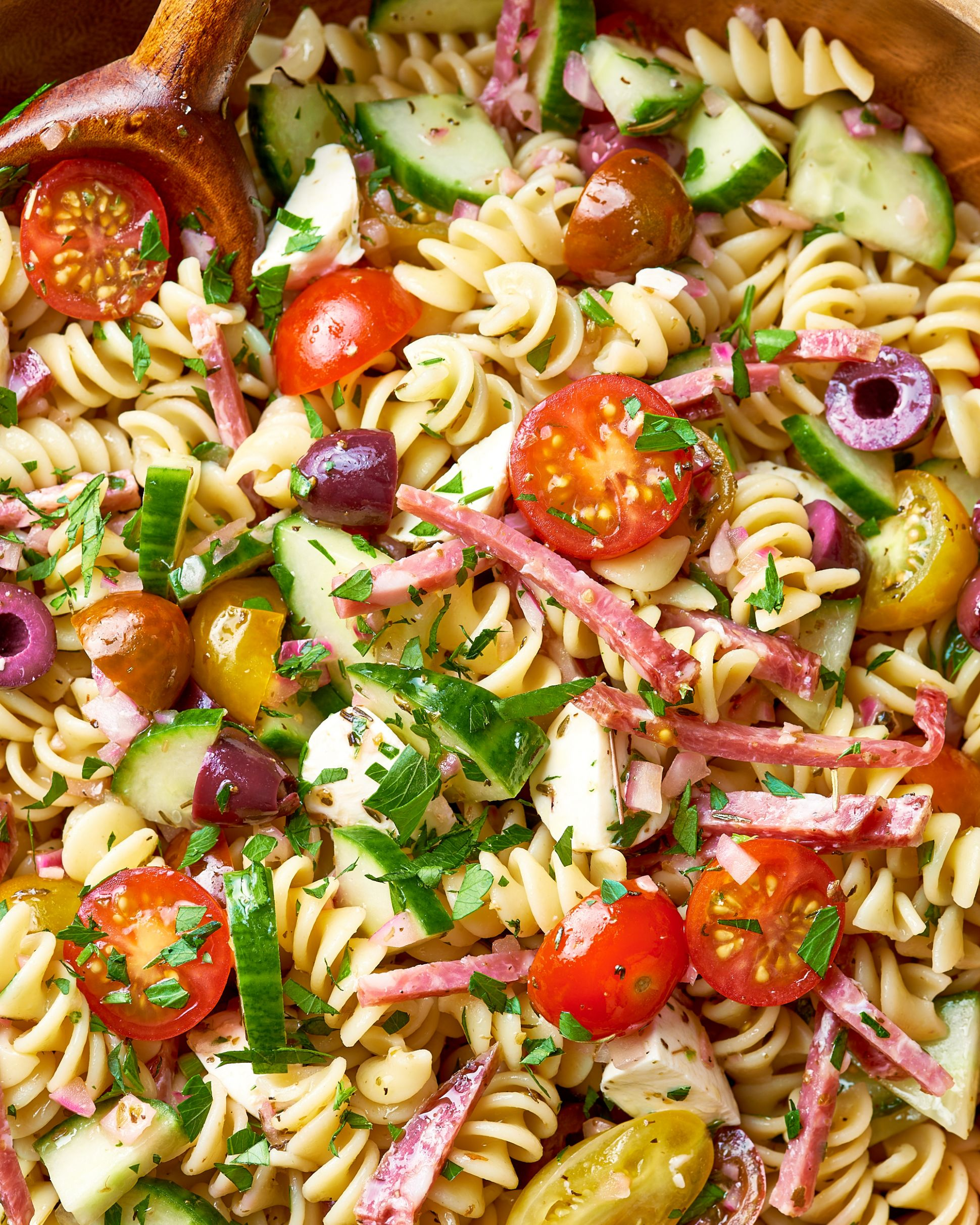 How To Make the Easiest Pasta Salad - Recipes Pasta Salad