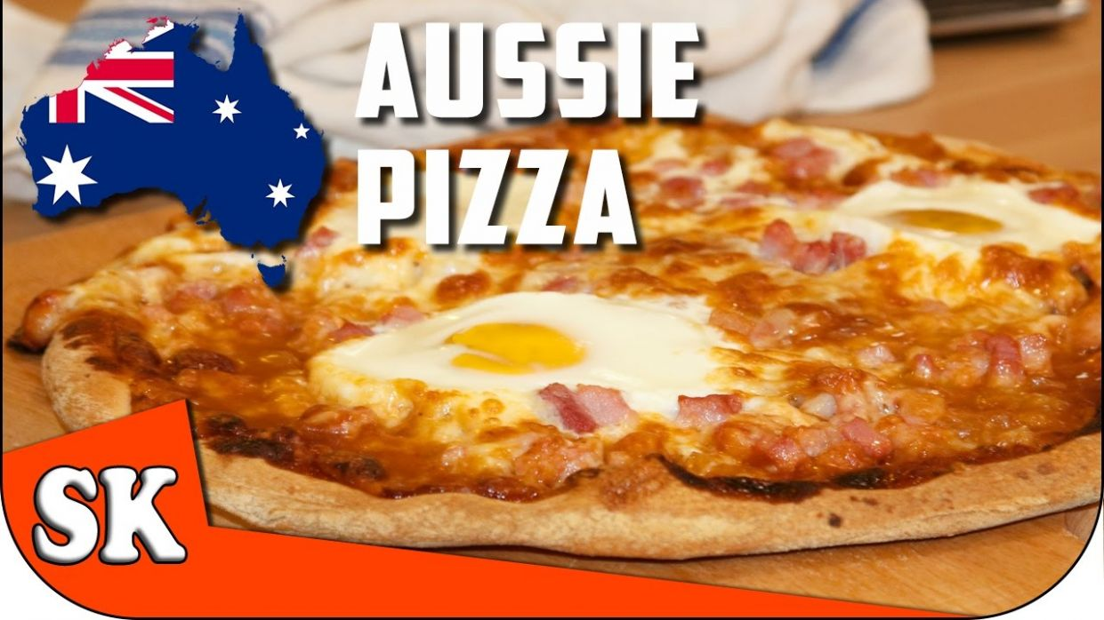 HOW TO MAKE THE PERFECT PIZZA - Egg and Bacon Aussie Pizza 🇦🇺