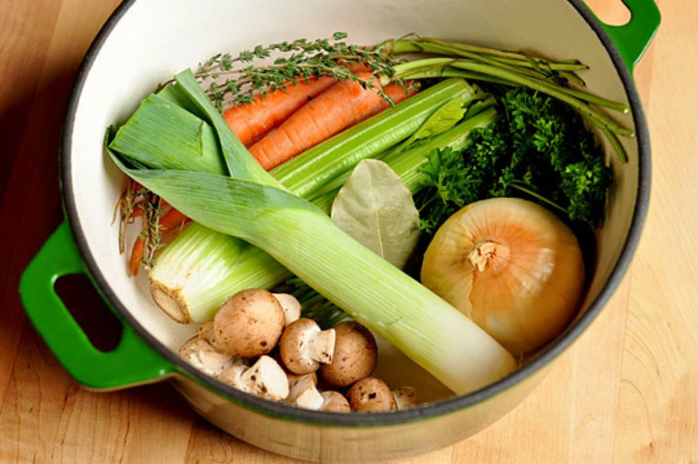 How To Make Vegetable Stock - Recipes Vegetable Broth