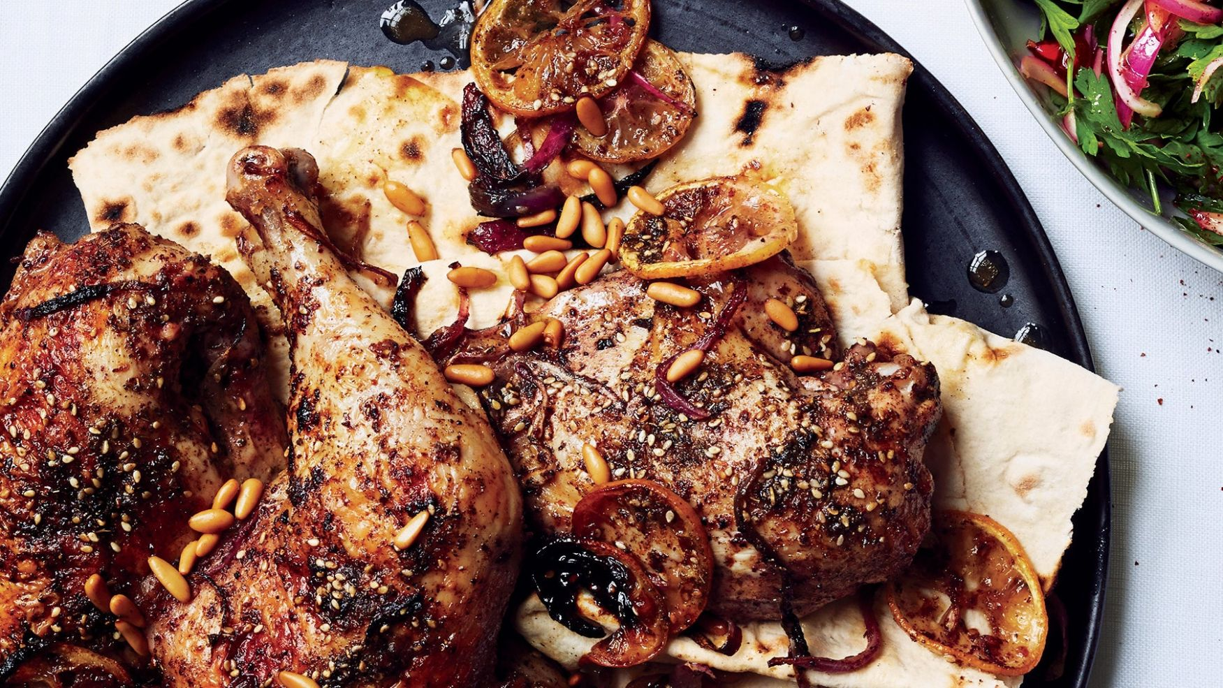 How to Make Yotam Ottolenghi Summer Roast Chicken | Epicurious