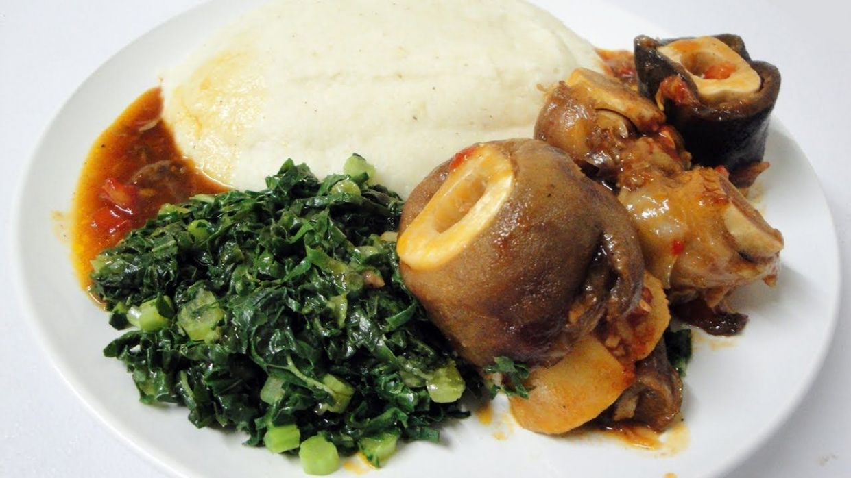 How to make Zimbabwean Sadza (and serve it) | African food ...