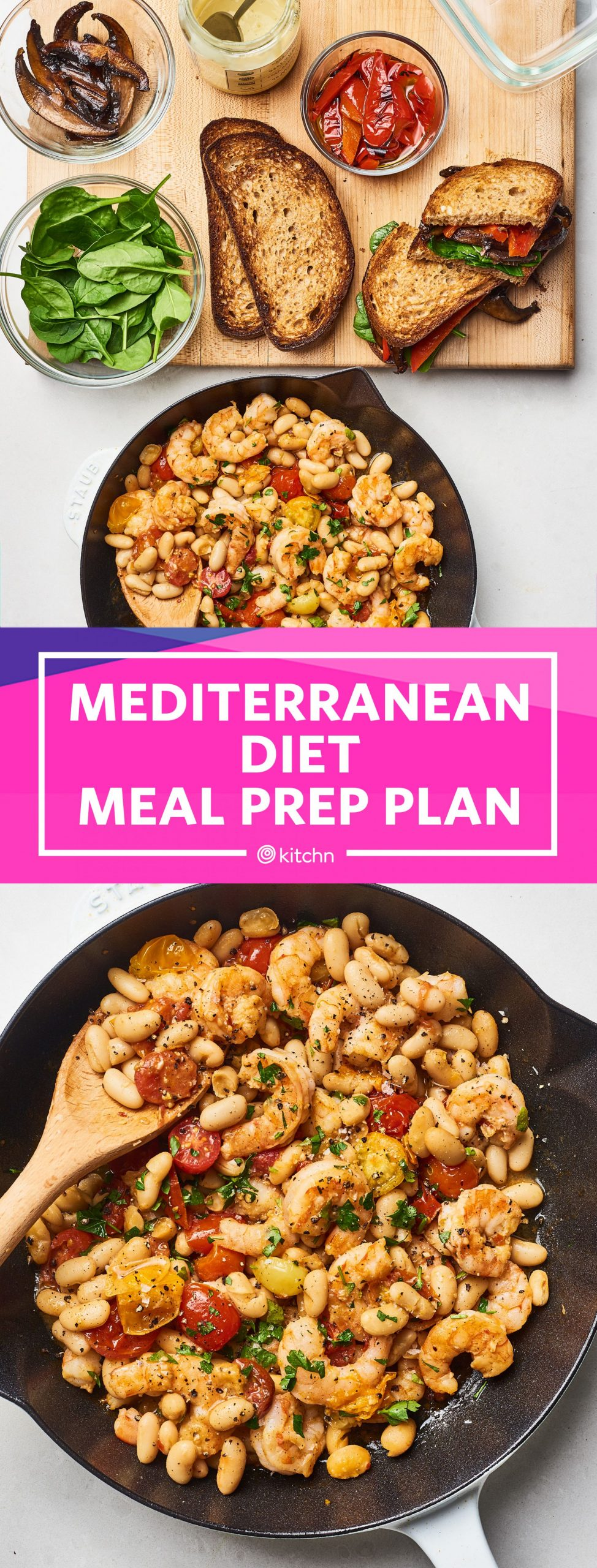 How to Prep a Week of Easy Mediterranean Diet Meals | Kitchn - Easy Recipes Mediterranean Diet