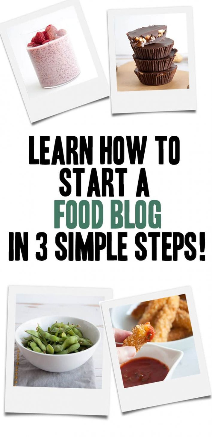 How to start a food blog (12 simple steps - guide) | Elephantastic ..
