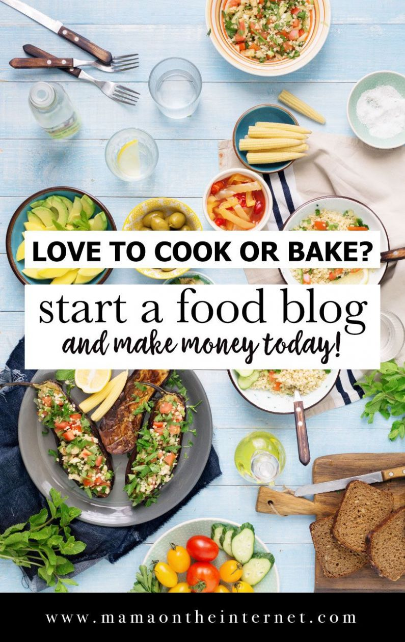 How To Start A Food Blog | How To Start A Blog - Easy Recipes Blog