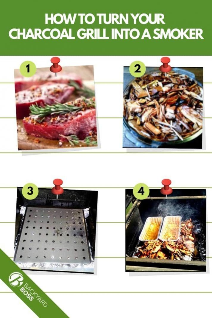 How To Turn Your Charcoal Grill Into A Smoker - Recipe Included ..