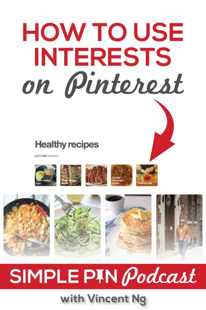How to Use Interests on Pinterest | Pinterest healthy recipes ...
