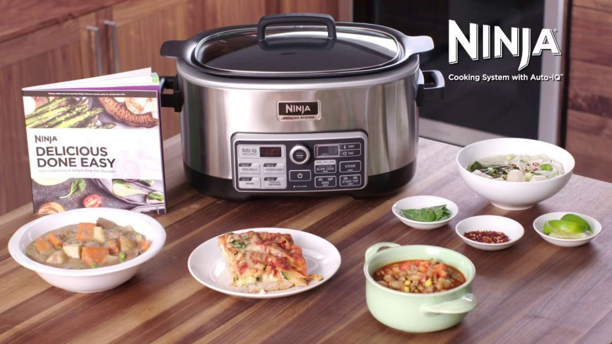 How to Use Your Ninja® Cooking System Auto-iQ™ Functions (CS10 Series) - Recipes Ninja Cooking System