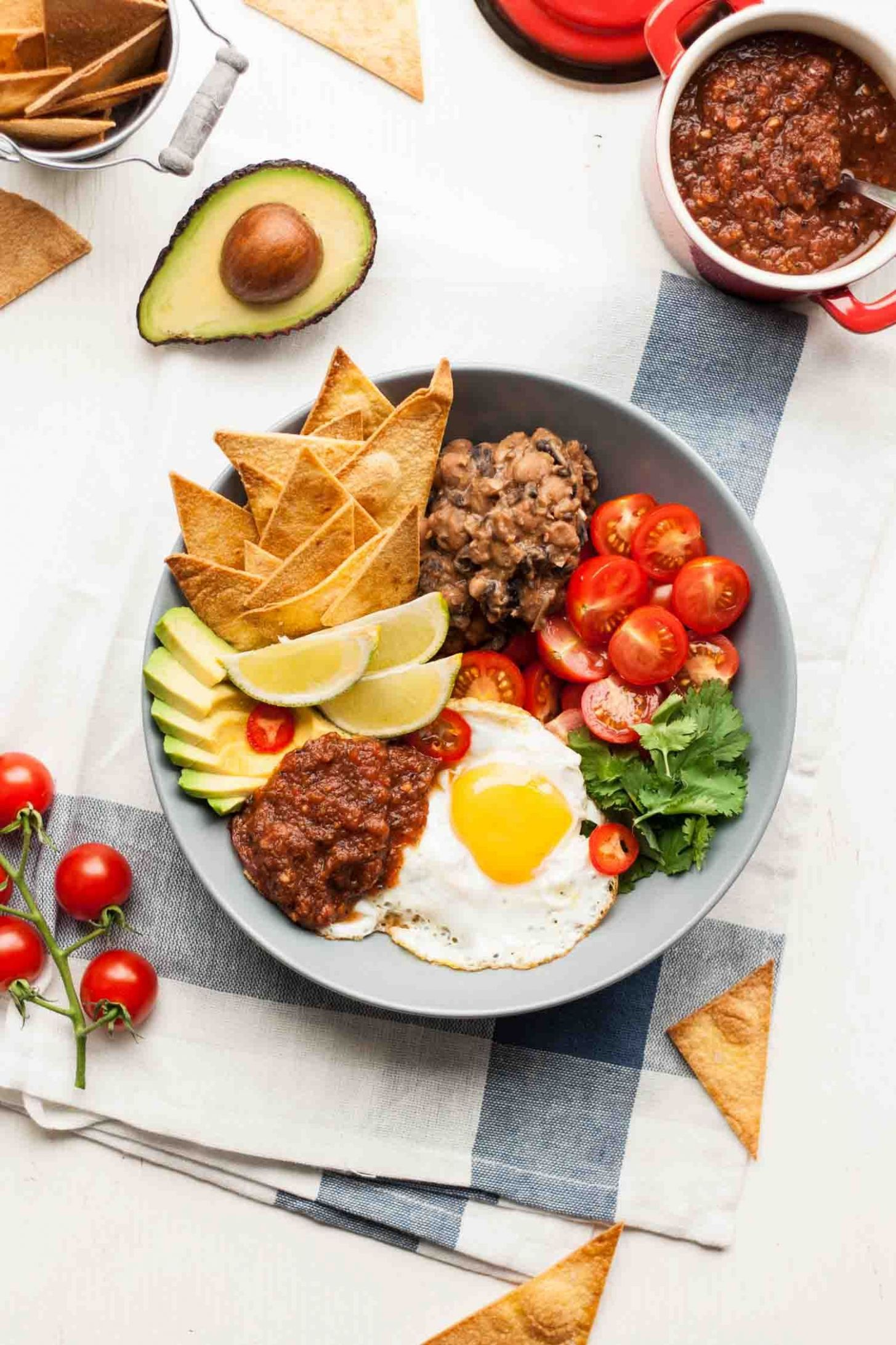 Huevos Rancheros Bowl - Breakfast Recipes Mexican