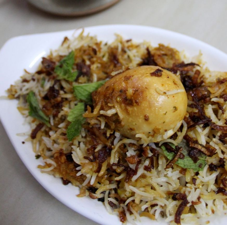 Hyderabadi Egg Biryani Recipe, Egg Dum Biryani