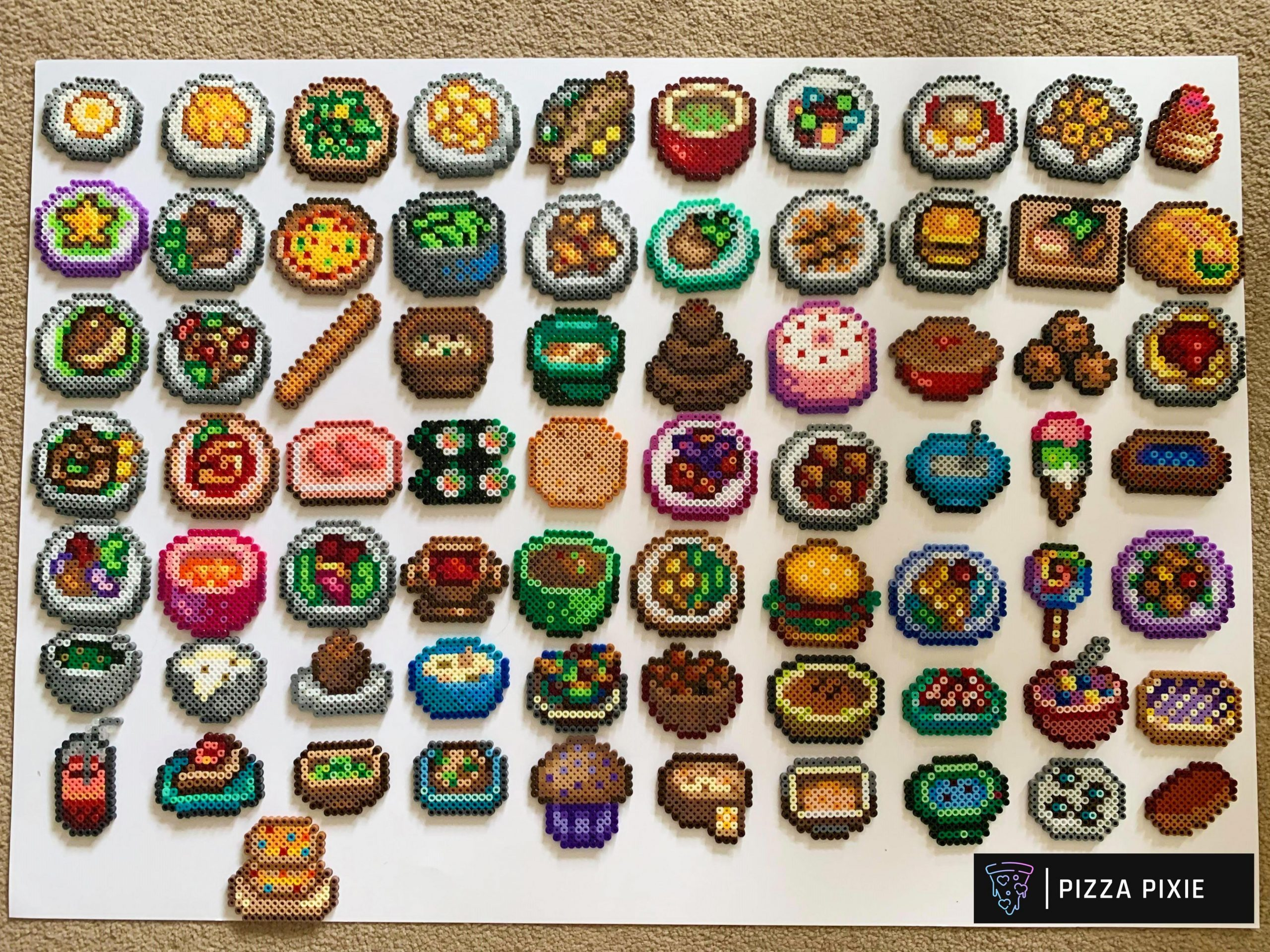 I made every food recipe from Stardew Valley (all 8 of them ..