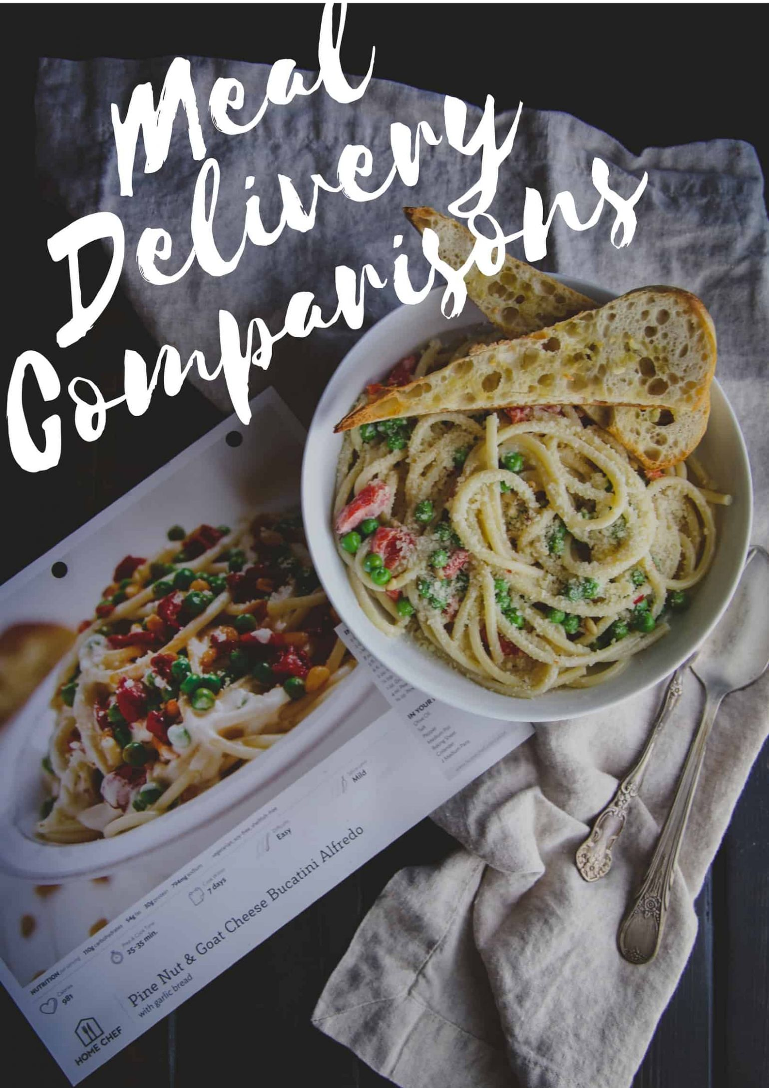 I tried 9 home meal delivery services...here is my comparison ...