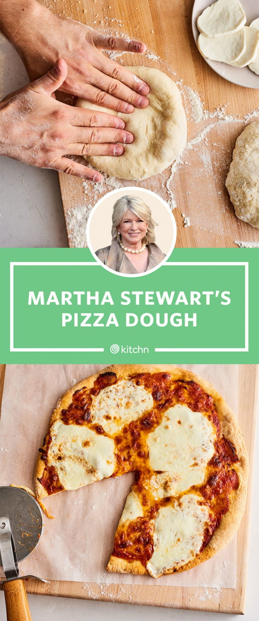 I Tried Martha Stewart's Pizza Dough Recipe | Kitchn
