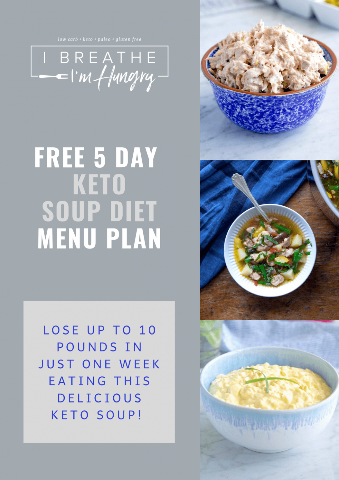 IBIH 11 Day Keto Soup Diet - Low Carb, Whole11, SCKC | I Breathe I ...