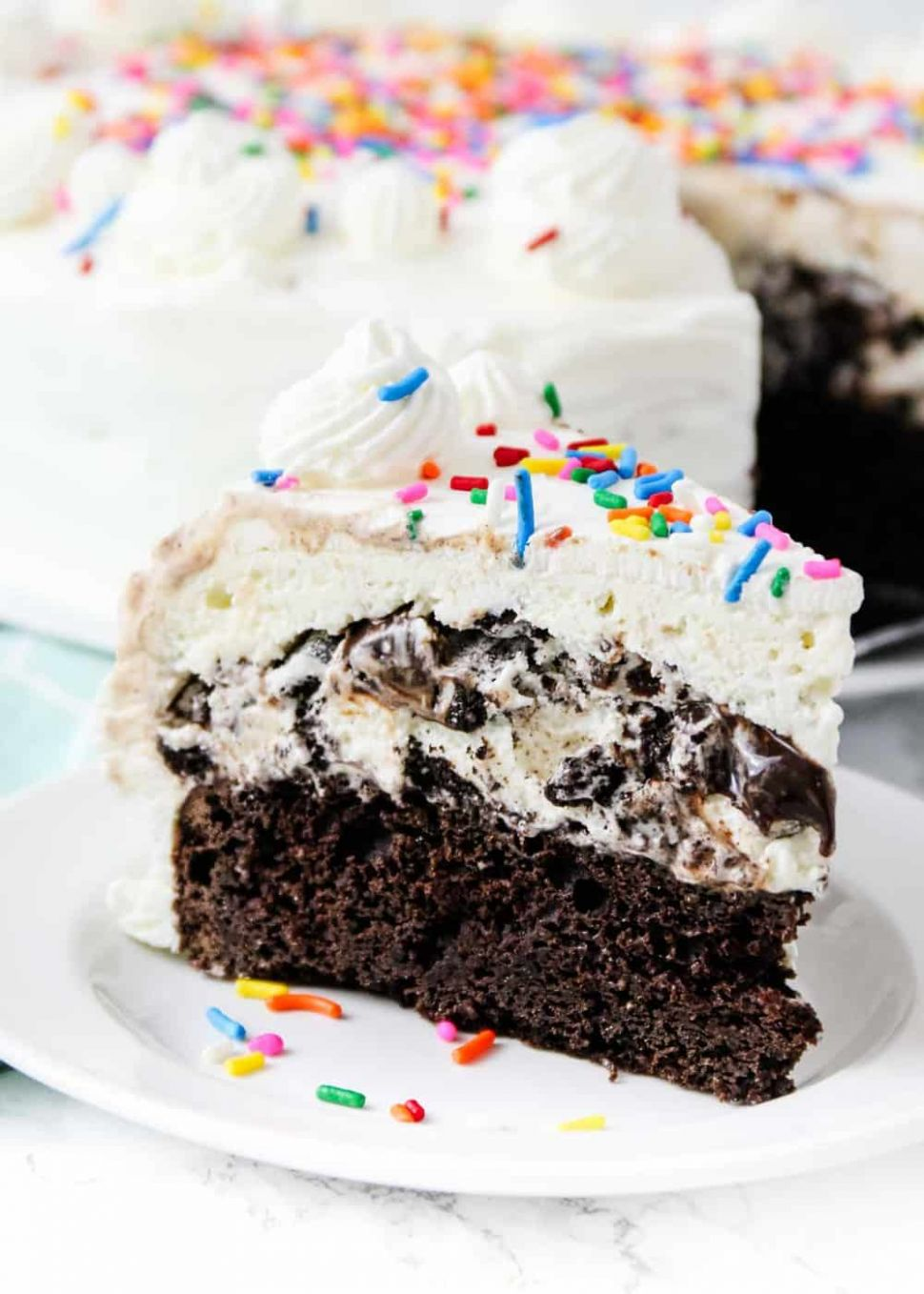 Ice Cream Cake Recipe - Dessert Recipes Ice Cream