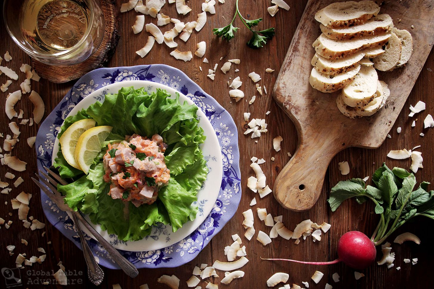 Ika Mata Fish Salad and the legend of New Zealand - Fish Recipes New Zealand