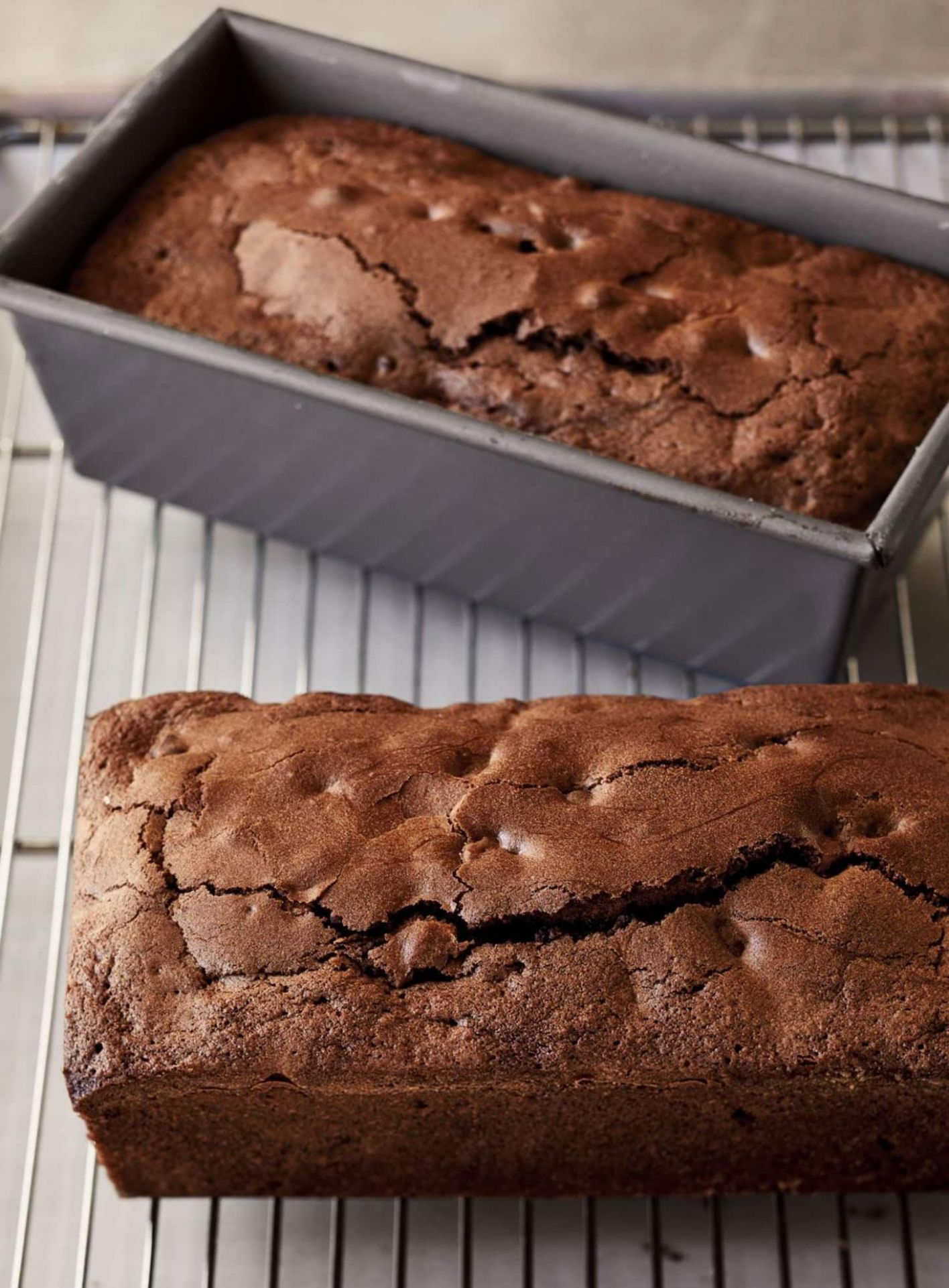 Ina Garten's Triple Chocolate Loaf Cakes