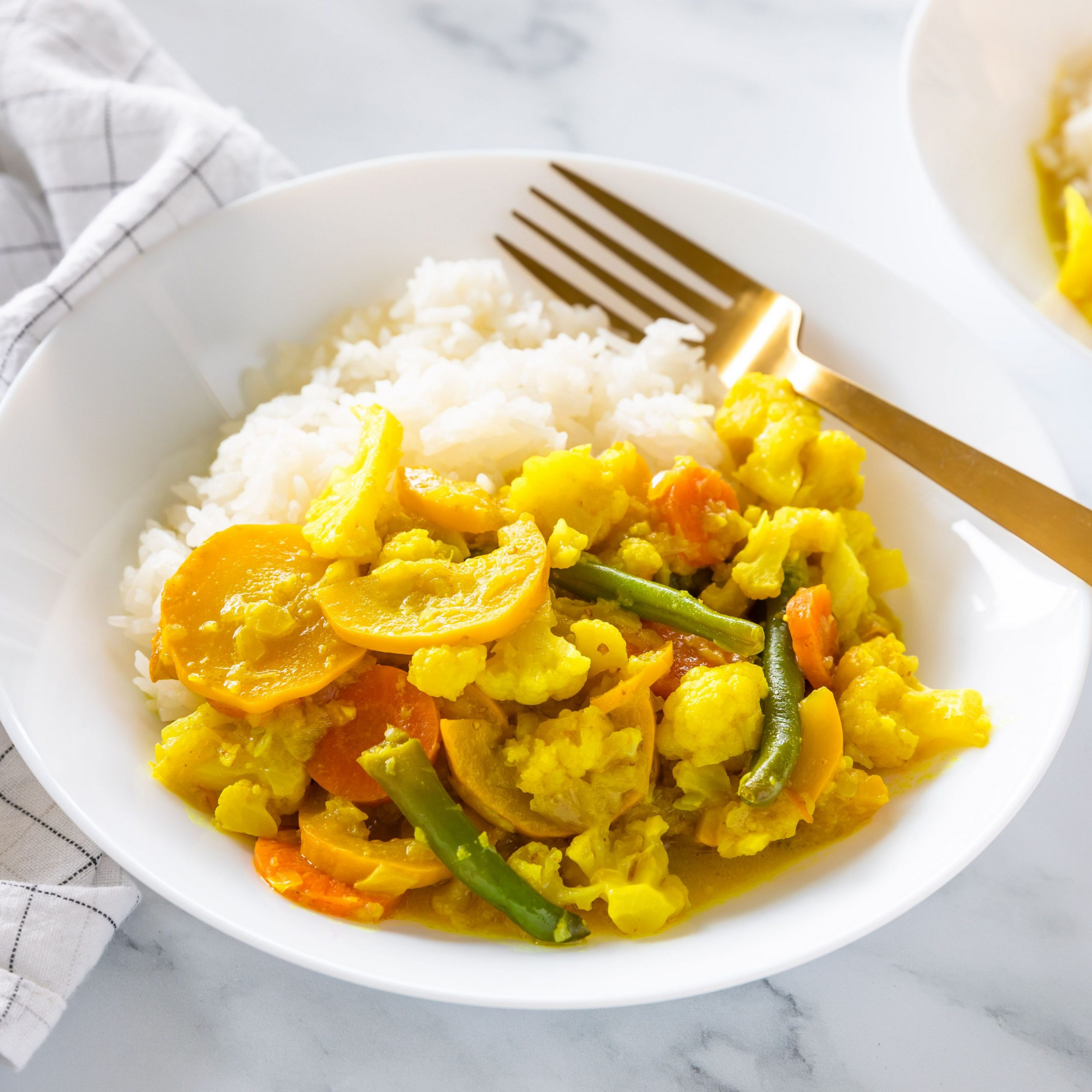 Indian Coconut Vegetable Curry