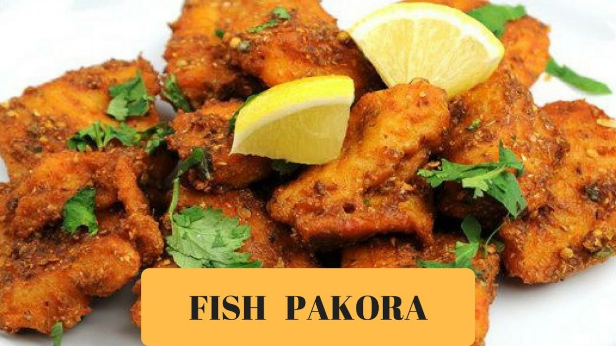 Indian Fish Pakora - Fish fry