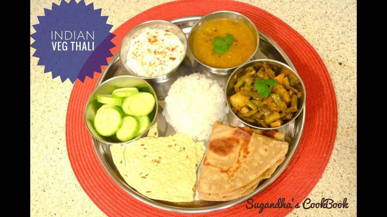 Indian Lunch Menu/Recipes in Hindi/ Indian Veg Thali/ Indian Meal Prep /My  Lunch Routine/
