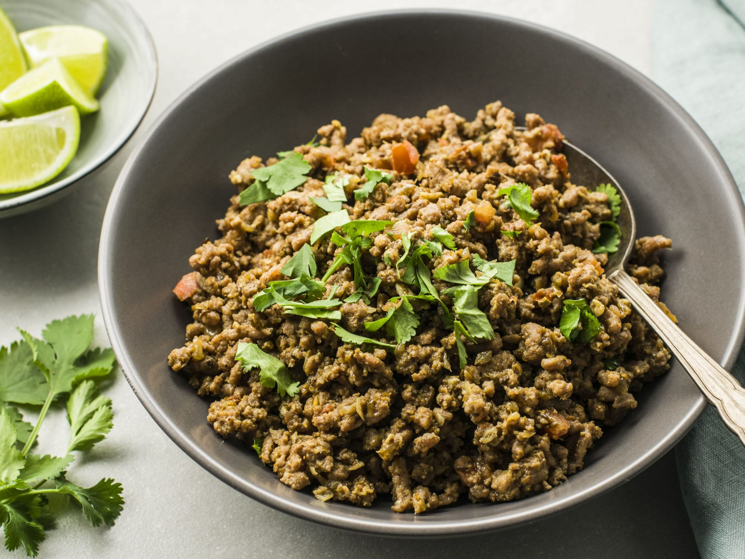 Indian Masala Kheema (Dry Spicy Minced Meat) - Recipes Beef And Pork Mince