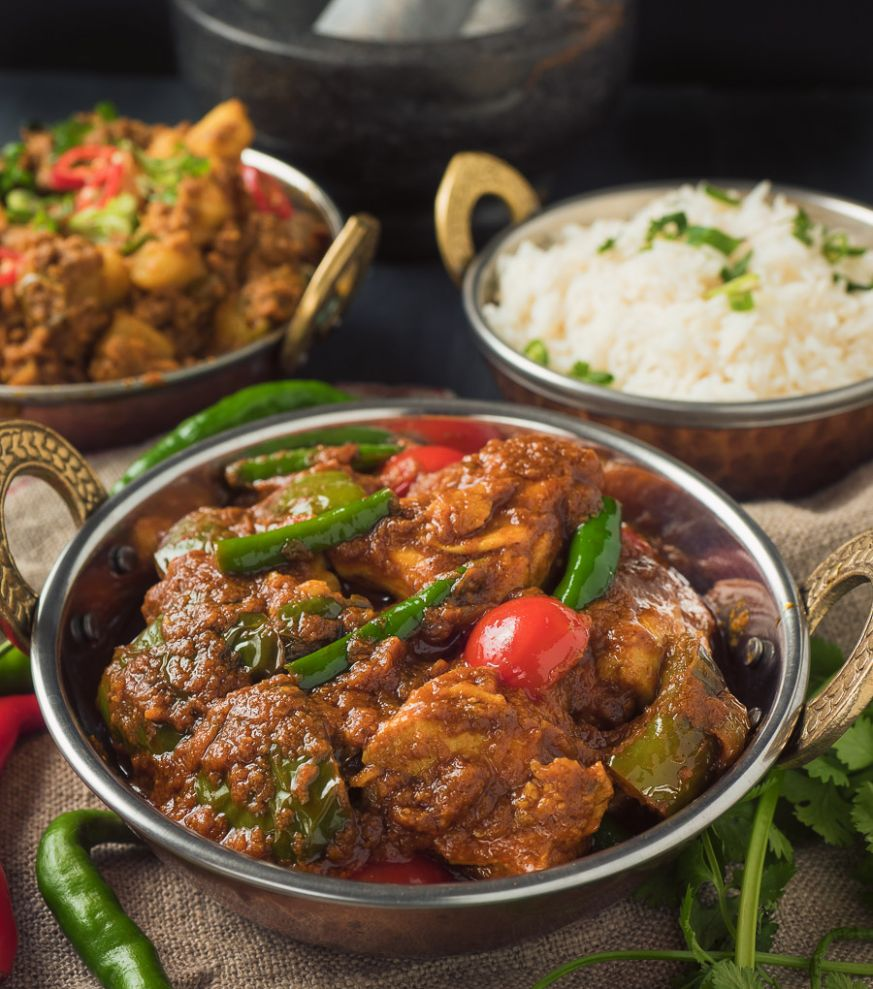 indian restaurant chicken jalfrezi