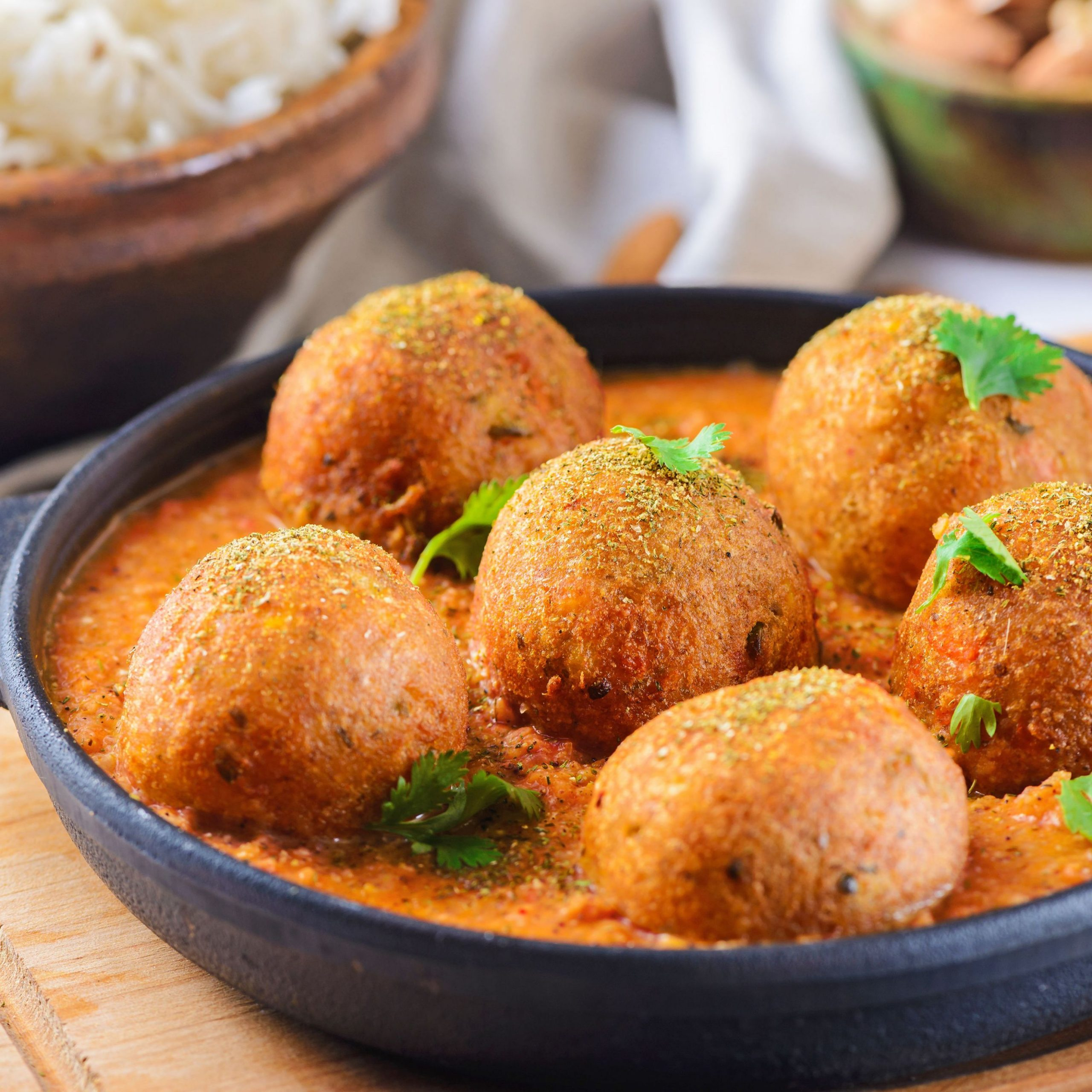 Indian Veggie Balls (Malai Kofta) - Recipe Vegetarian Kofta Balls