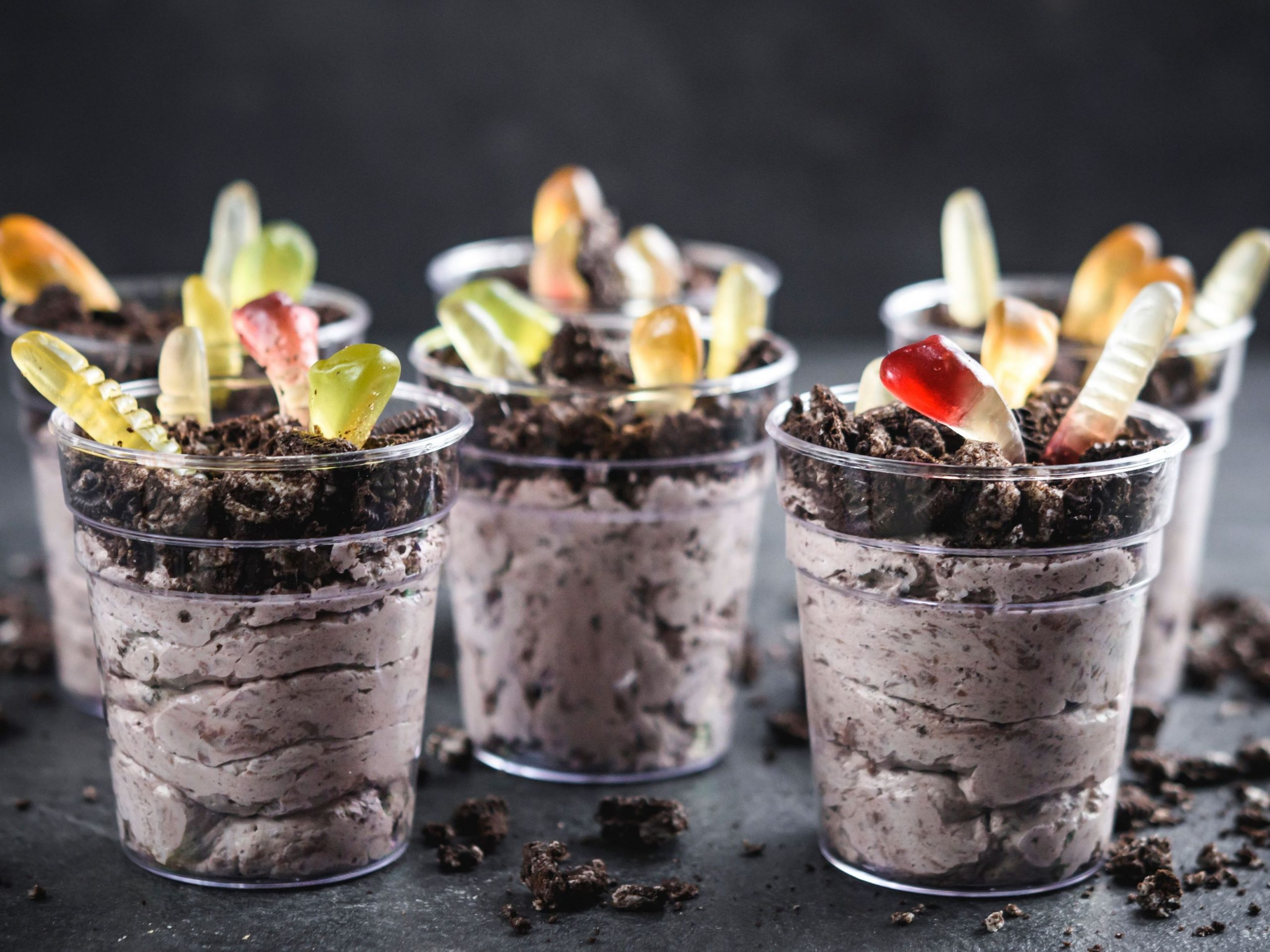 Individual Pudding Dirt Cups - Dessert Recipes That Serve 4
