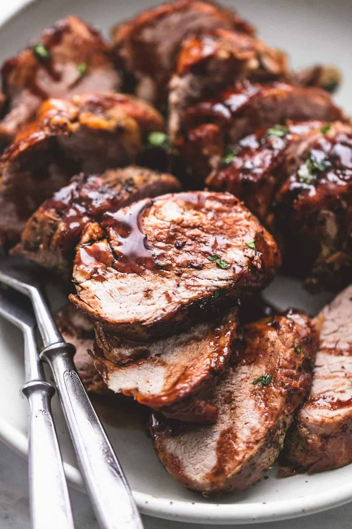 Instant Pot Balsamic Pork Tenderloin - Pork Tenderloin Recipes