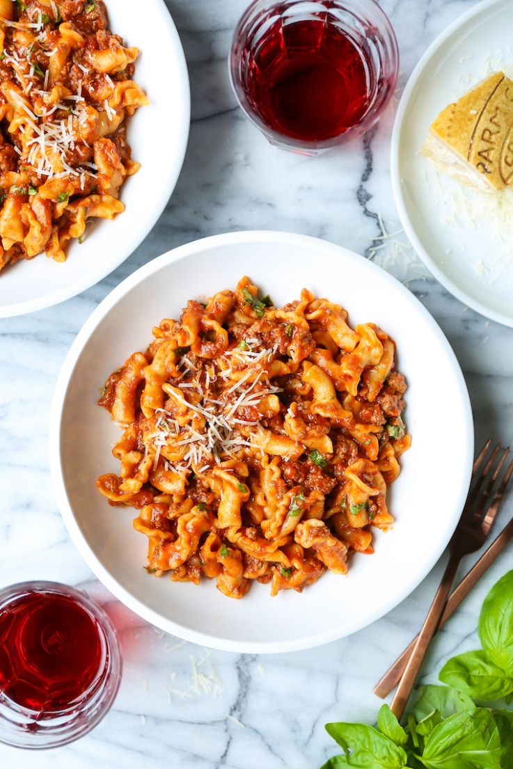 Instant Pot Ground Beef and Pasta - Pasta Recipes Pressure Cooker