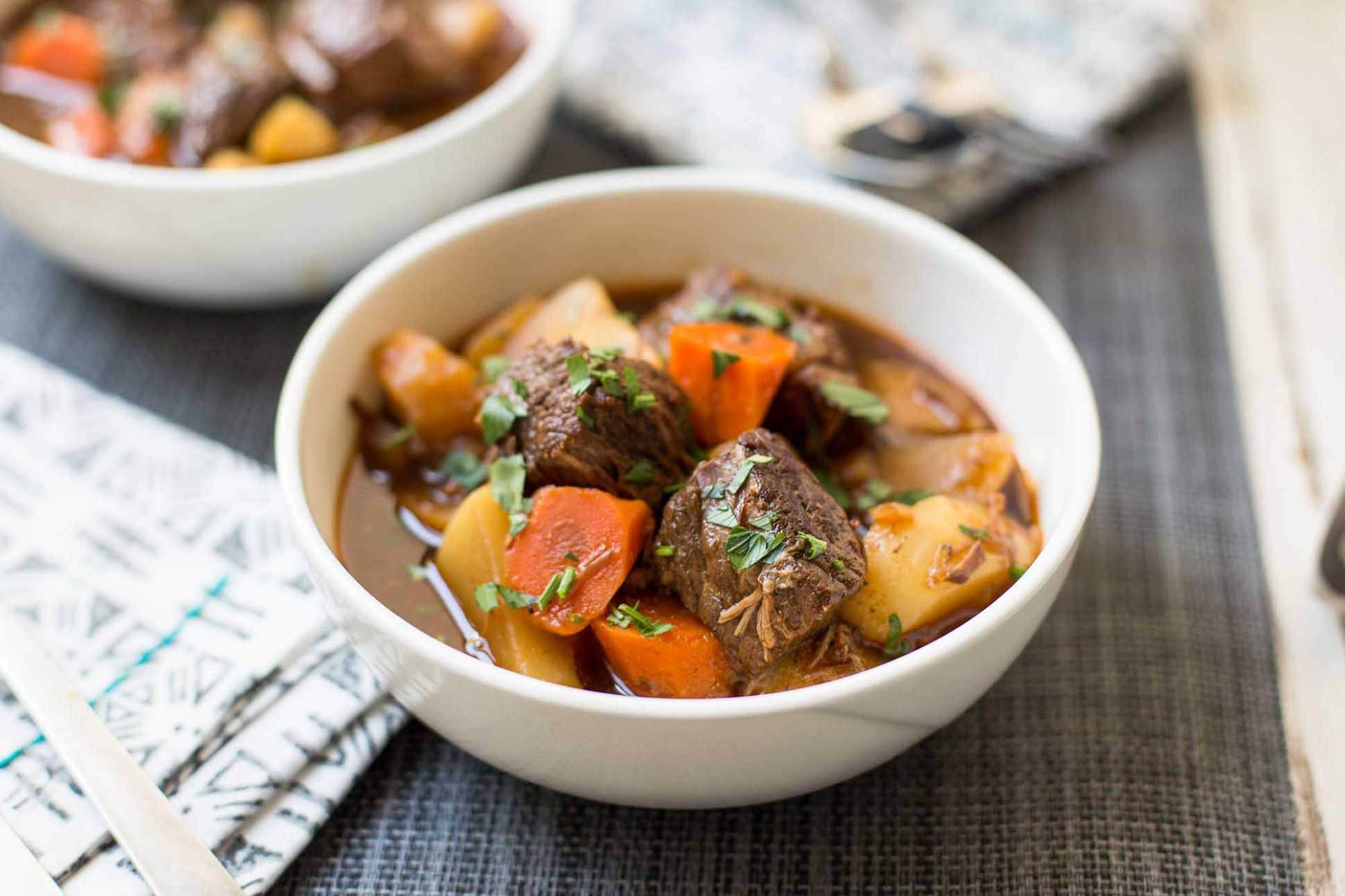 Instant Pot Guinness Beef Stew - Beef Recipes In Pressure Cooker