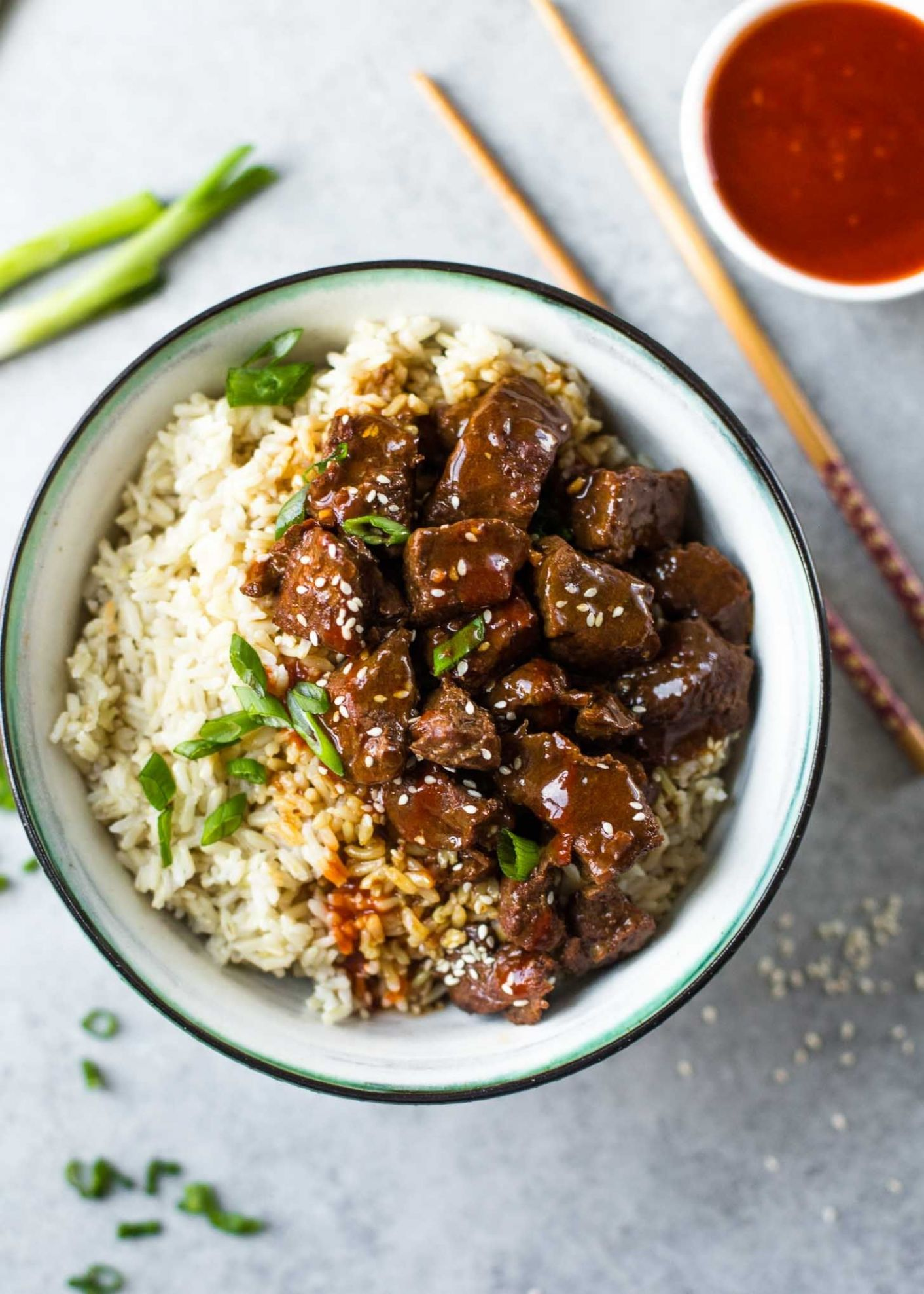 Instant Pot Korean Beef and Brown Rice - Beef Recipes Quick