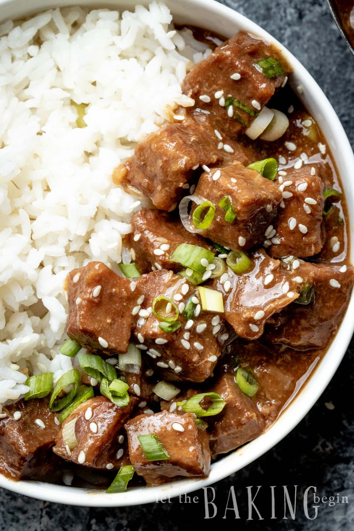 Instant Pot Korean Beef and Rice