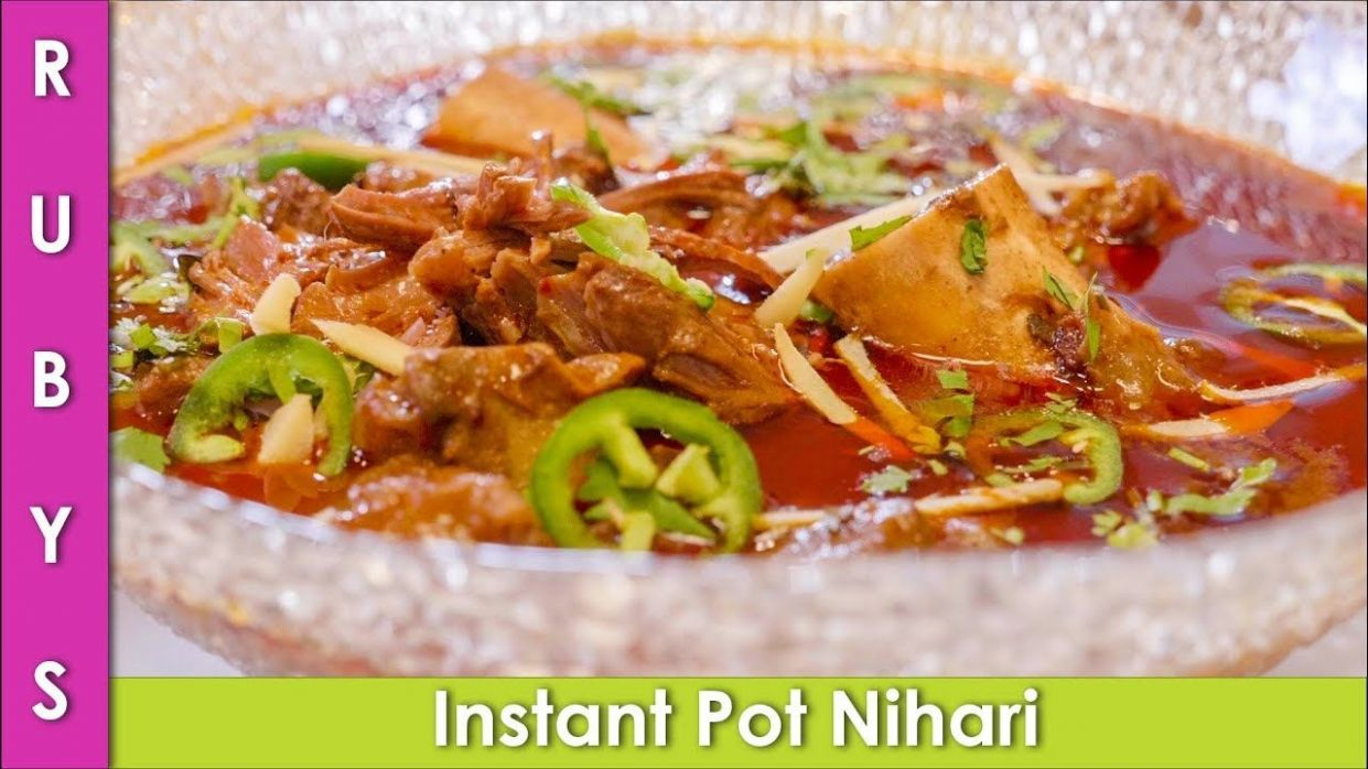 Instant Pot Nihari Mutton Nihari Recipe in Urdu Hindi - RKK ..