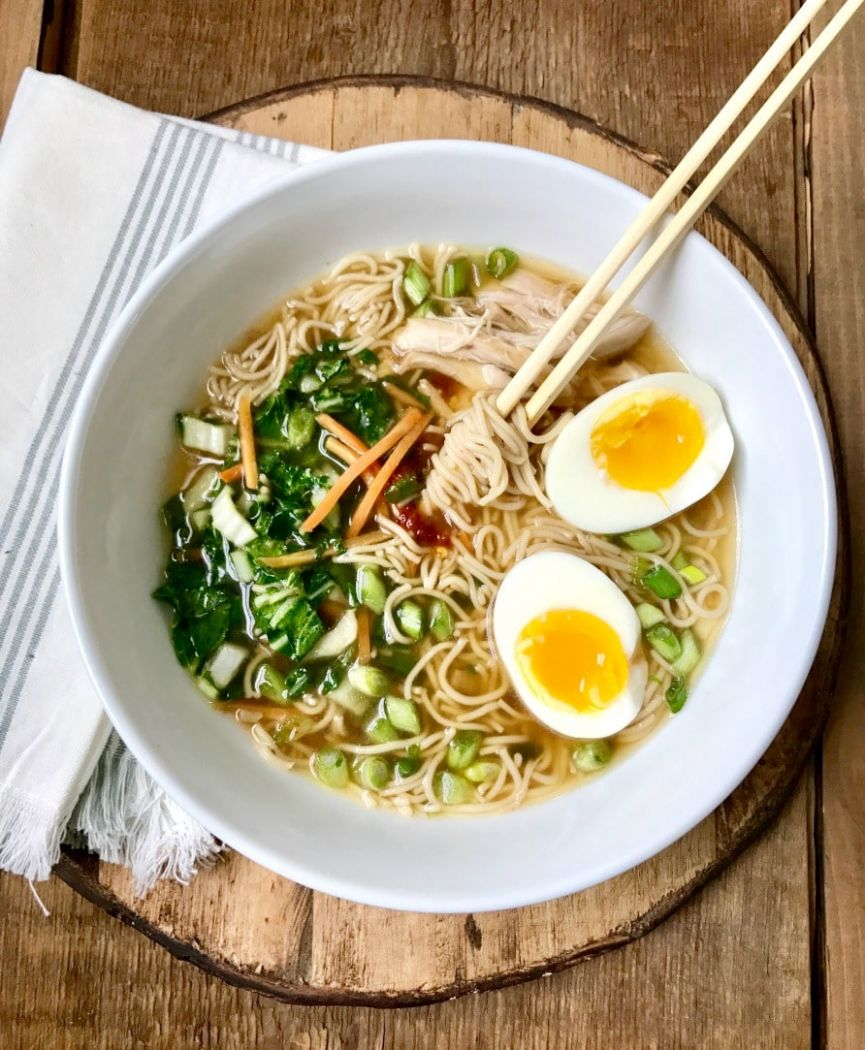 Instant Pot Ramen Noodles | 12 Day Fix Ramen Noodles - Healthy Recipes Ramen Noodles