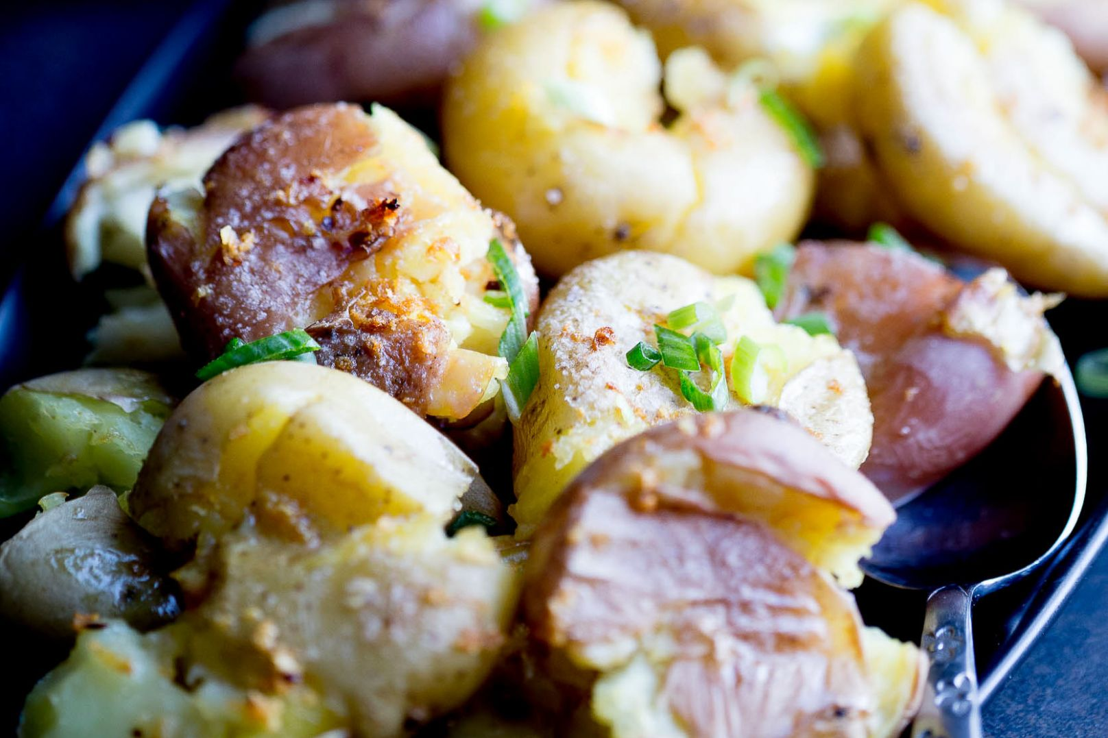 Instant Pot Smashed Potatoes with Garlic Brown Butter