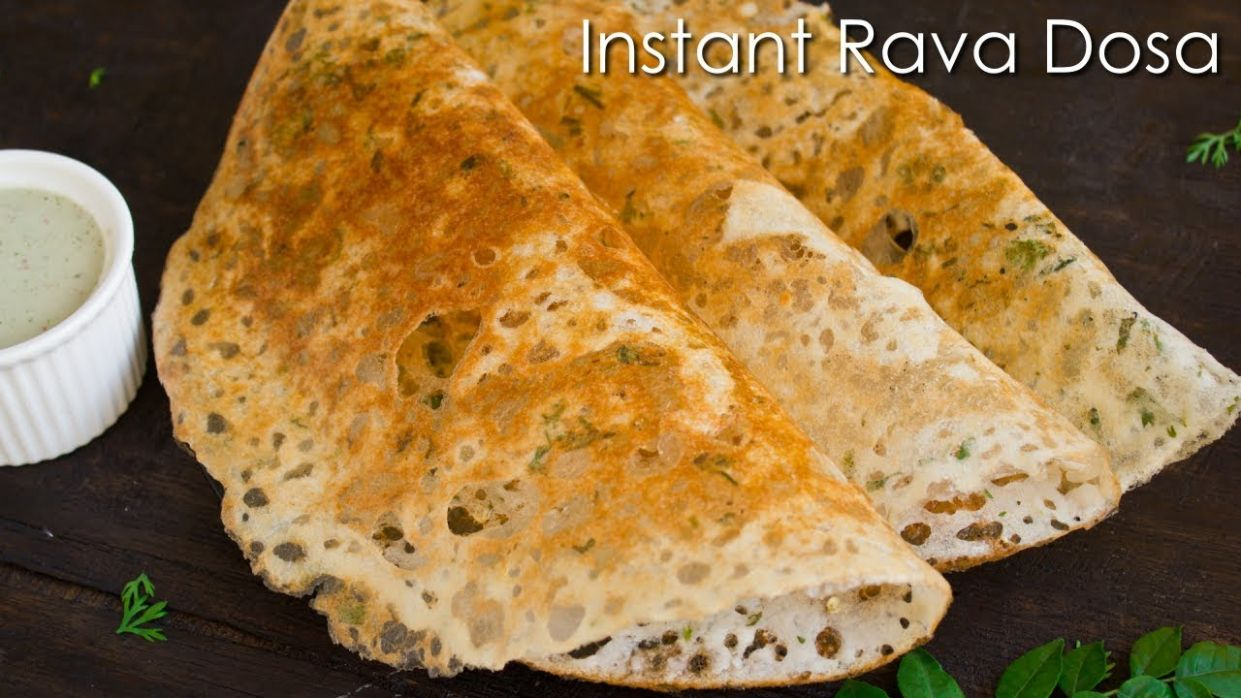 Instant Rava Dosa | Crispy Sooji Dosa | Quick Breakfast Recipe ~ The  Terrace Kitchen - Breakfast Recipes Rava Dosa
