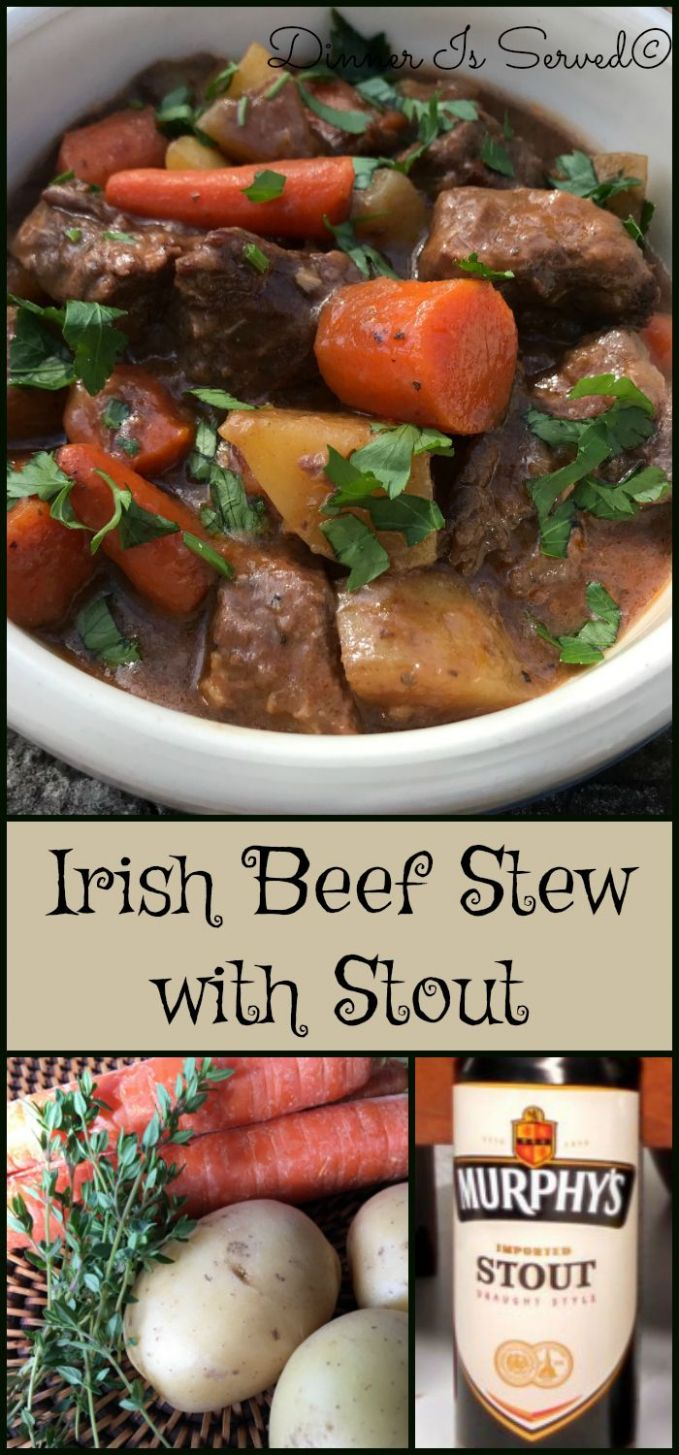 Irish Beef Stew with Stout | Beef recipes, Food recipes, Cooking ..