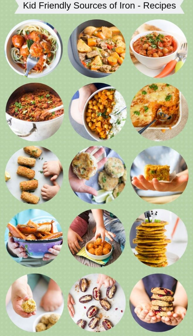 Iron Rich Foods For Kids - Healthy Little Foodies - Food Recipes Rich In Iron