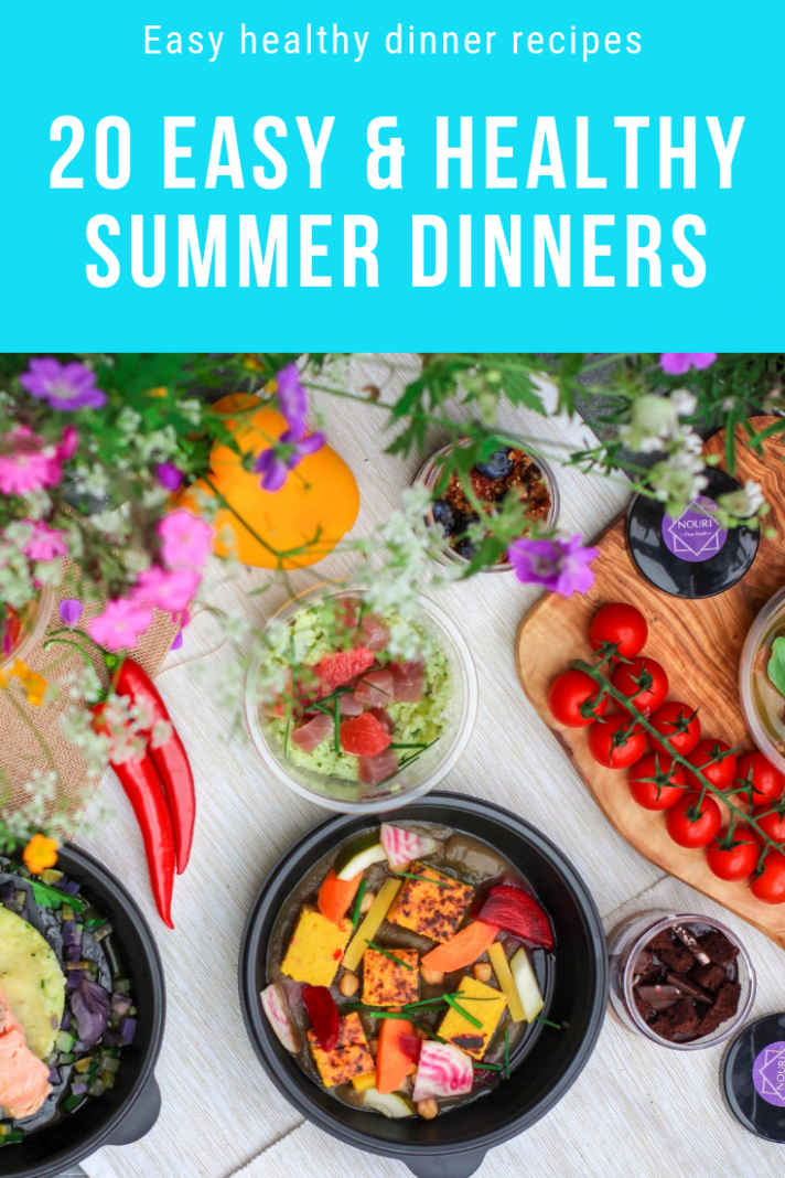 It's summertime! Looking for easy healthy dinner recipes everyone ...