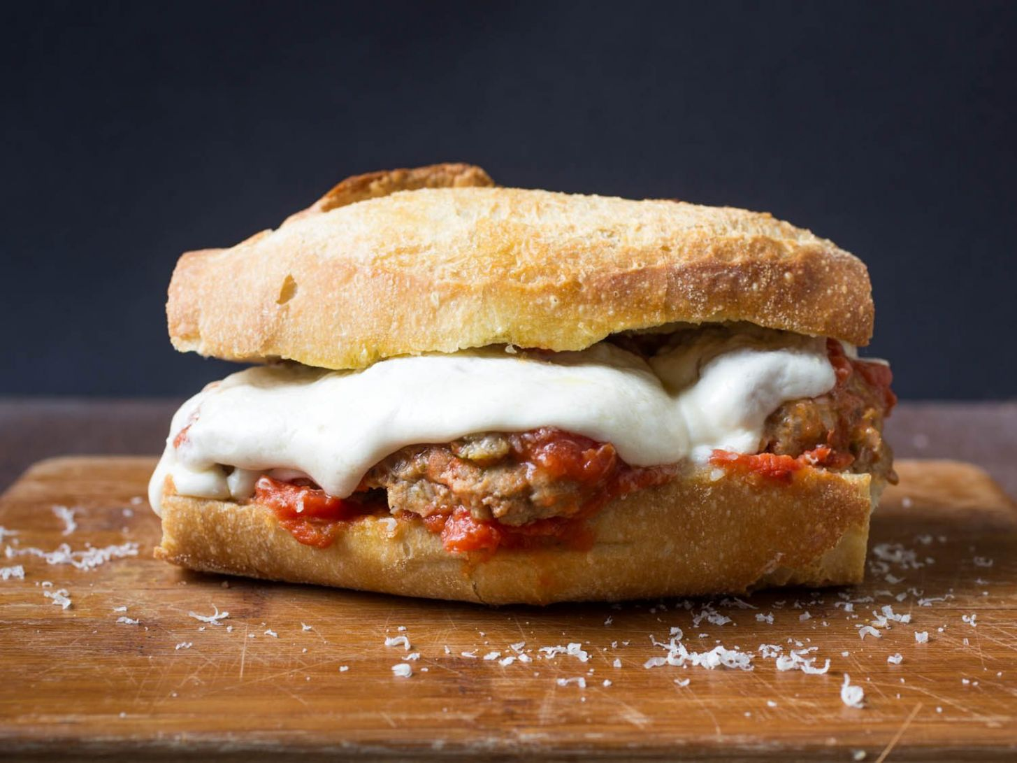 Italian-American Meatball Subs Recipe - Sandwich Recipes American