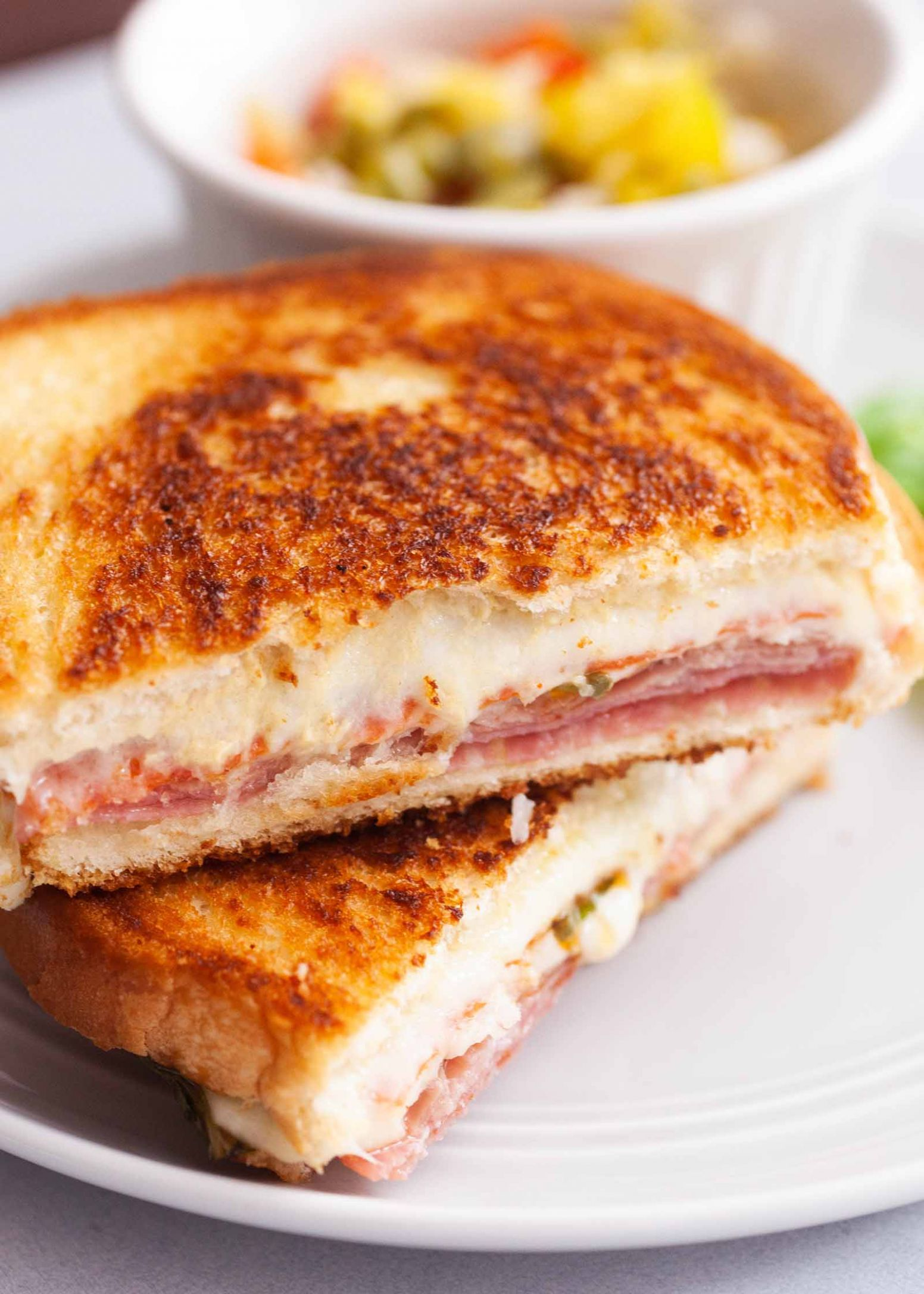Italian Grilled Cheese Sandwiches - Sandwich Recipes With Ingredients And Procedure