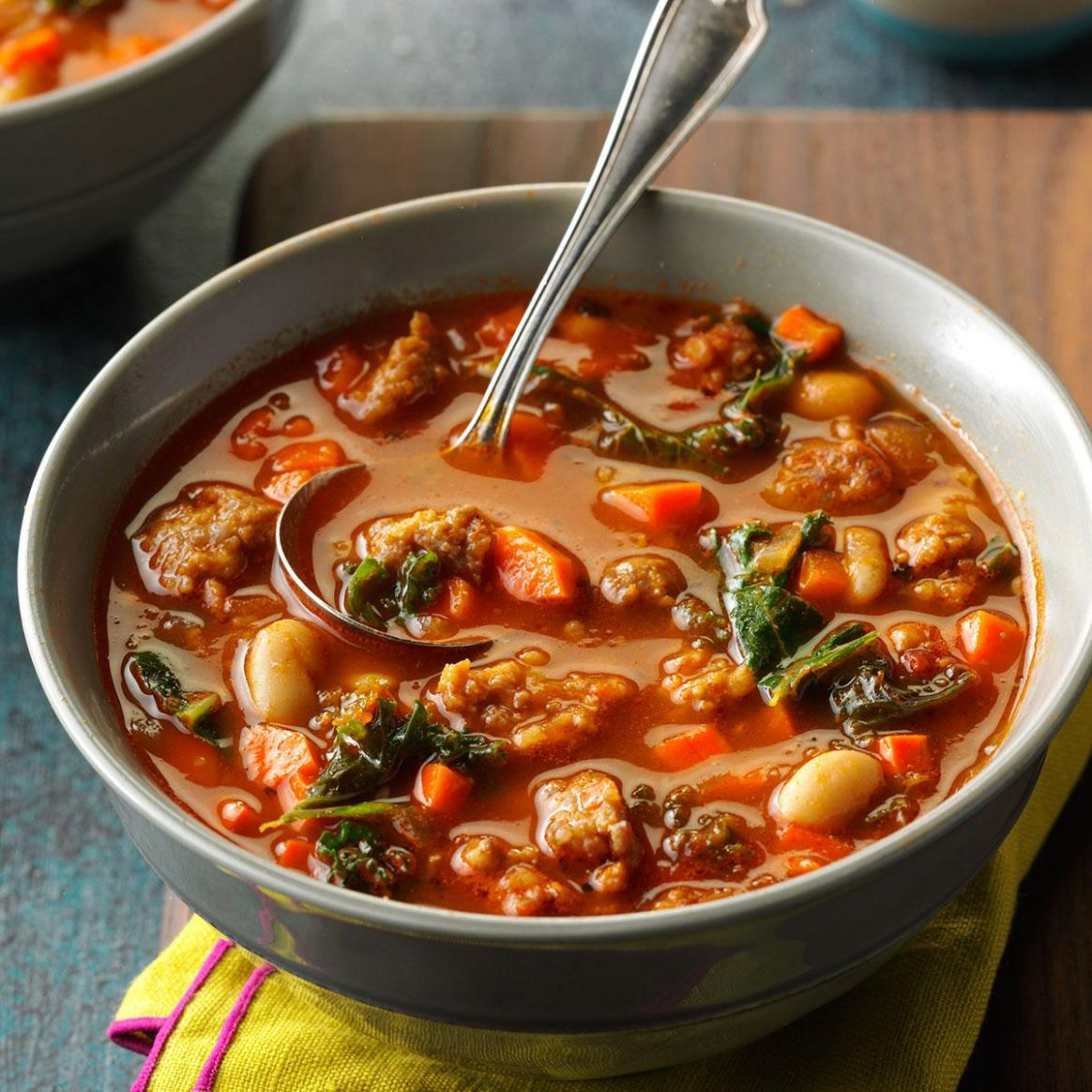 Italian Sausage and Kale Soup
