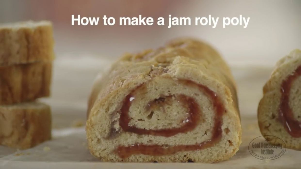 Jam Roly Poly Recipe | Good Housekeeping UK - Easy Recipe Jam Roly Poly