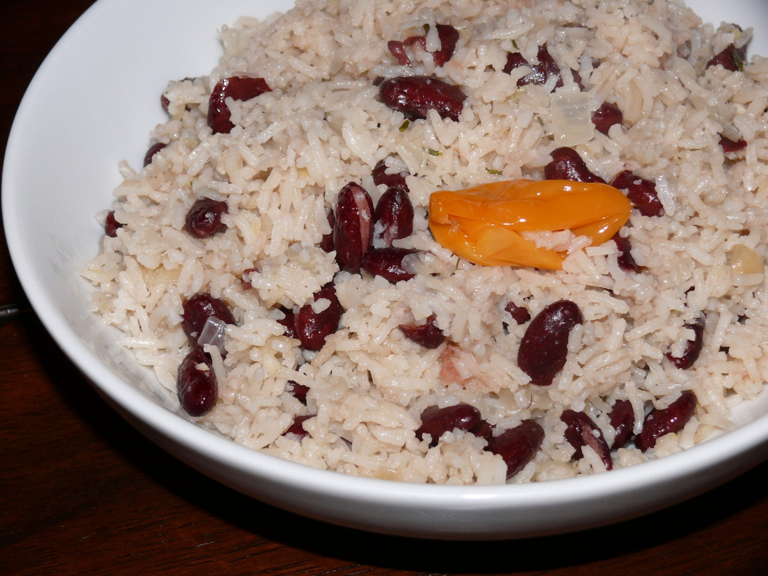 Jamaican Rice & Peas - Mayabugs's Recipes