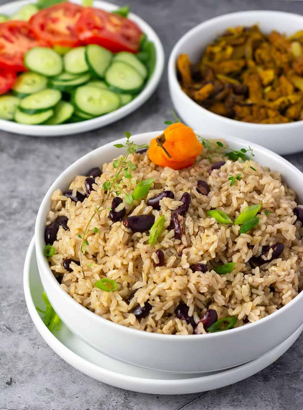 Jamaican Rice And Peas Recipe - Simple Recipes Jamaican Rice And Peas