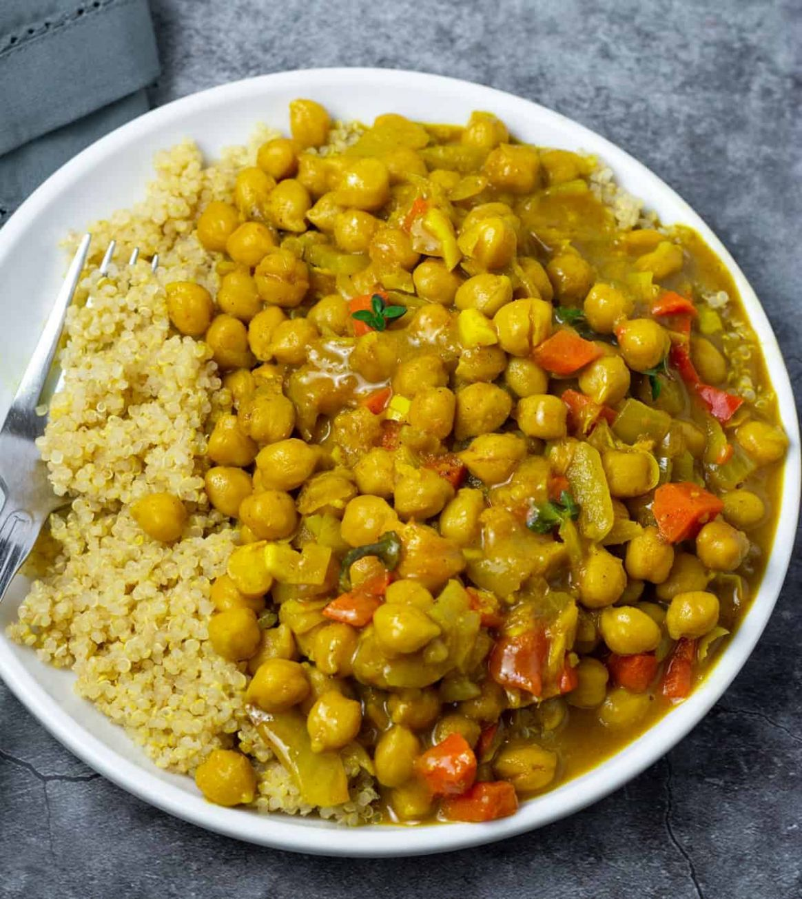 Jamaican-Style Chickpea Curry Recipe - Vegetarian Recipes Jamaican Style
