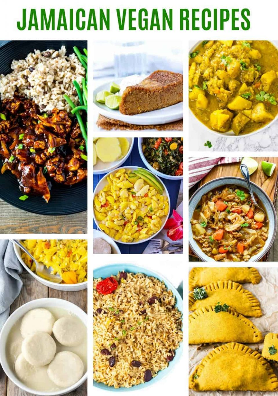 Jamaican Vegan Recipes - Healthier Steps - Simple Jamaican Recipes