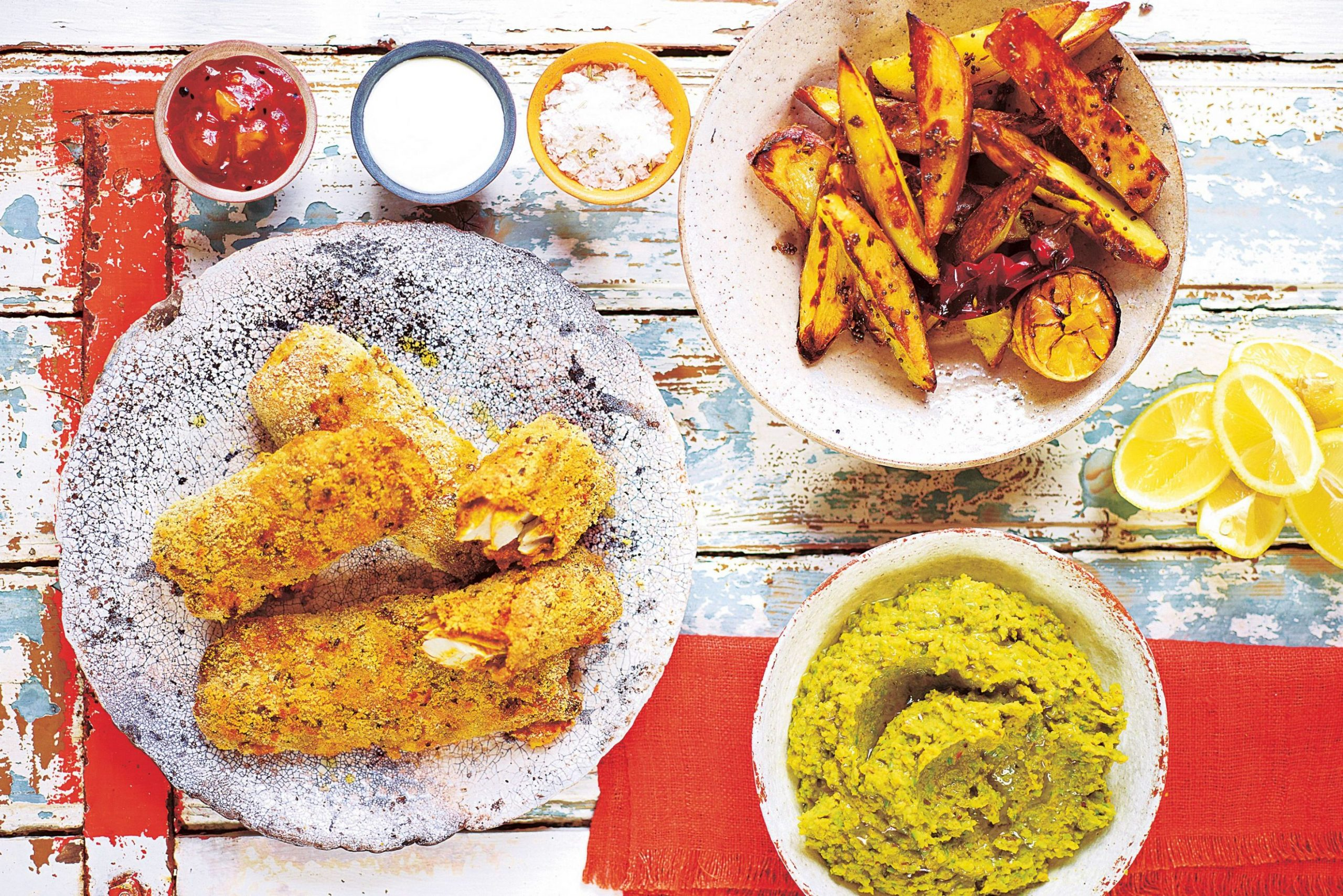 Jamie Oliver spices up traditional fish and chips with exciting ...